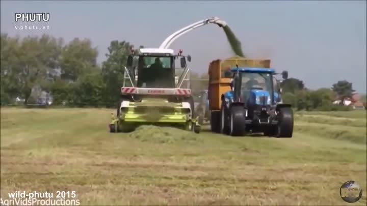 Modern machines agriculture in the world 2015