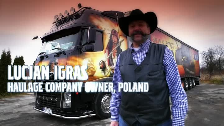 "Volvo Trucks - ""Welcome to my cab"" Lucjan Igras shows his Black Pearl"