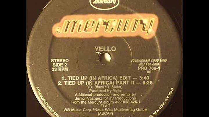 Yello - Tied Up (In Africa Edit)