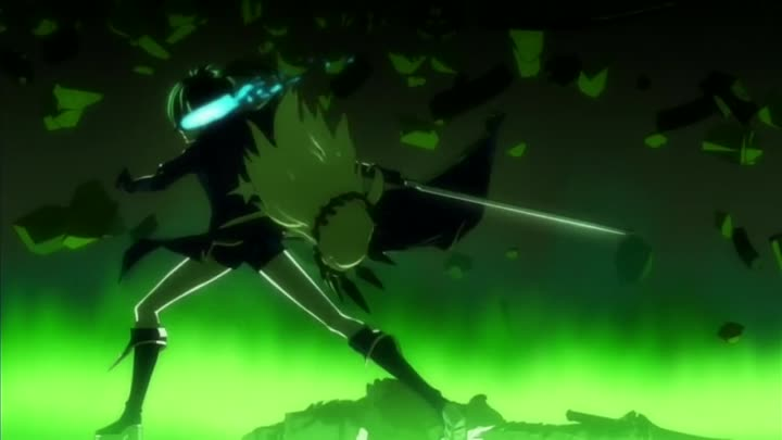 Видео: Black★Rock Shooter - AMV - Off With Her Head