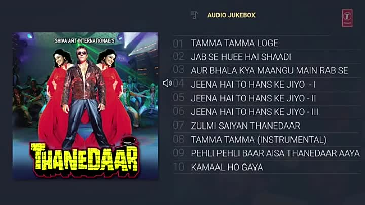 Видео: Thanedaar (1990) Hindi Movie Full Album (Audio) Jukebox _ Sanjay Dutt, Madhuri D