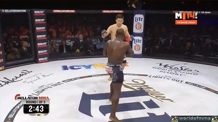 Hisaki Kato vs. Melvin Manhoef
