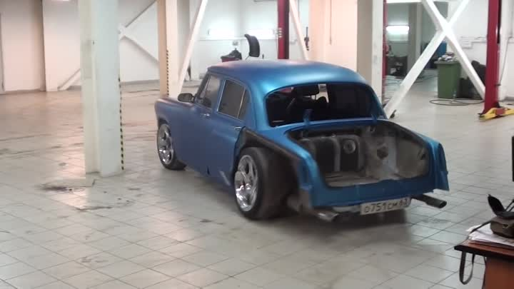 ГАЗ 21 TWIN TURBO