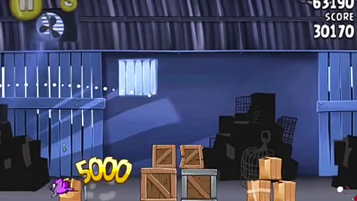 Angry Birds Rio Level 1-1 - Mighty Eagle - 100% - Total Destruction - Totale Zerstörung