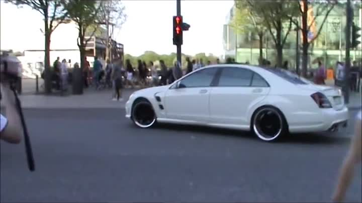 LORINSER Mercedes S63 ---AMG very loud acelleration-sounds