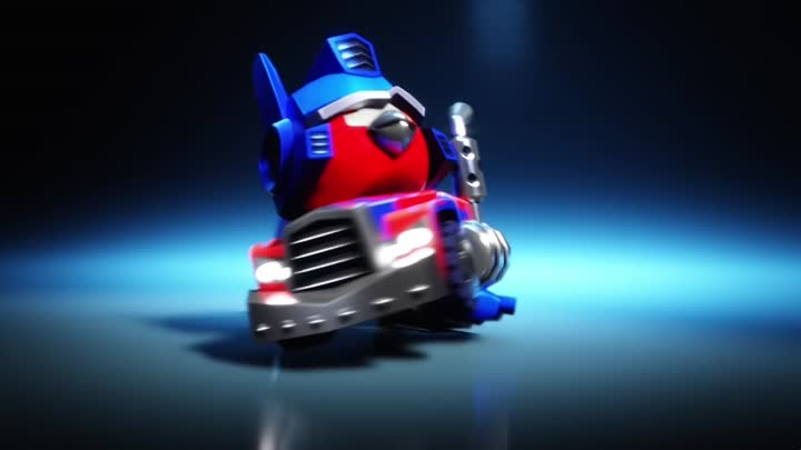 Видео: Angry Birds Transformers - Optimus Prime Trailer