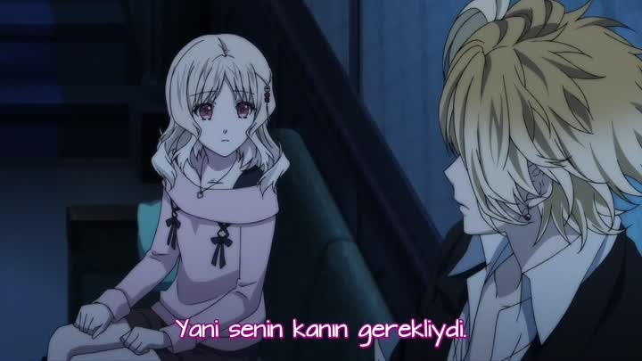 [PuzzleSubs] Diabolik Lovers More, Blood - 11 [720P]