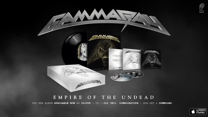 Видео: Gamma Ray Empire Of The Undead Song 4 Born To Fly (HD)