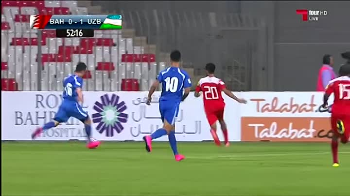 Видео: ★ BAHRAIN 0-4 UZBEKISTAN ★ 2018 FIFA World Cup Qualifiers - All Goals ★