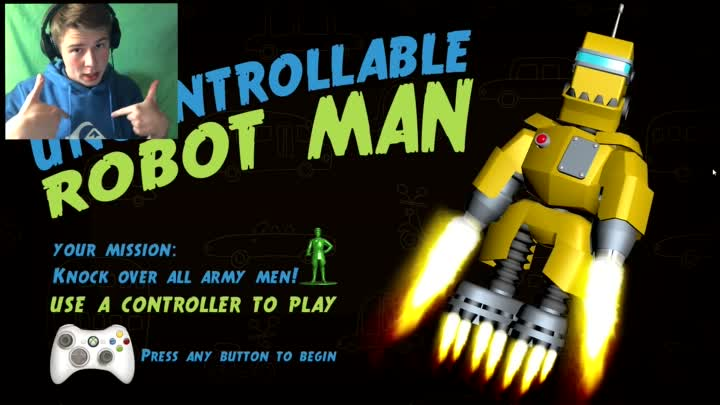 Видео: Я РОБОТ - Uncontrollable Robot Man