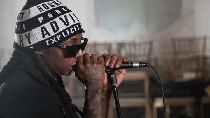 Lil Wayne - Behind The Scenes Video Shoot For On Fire
