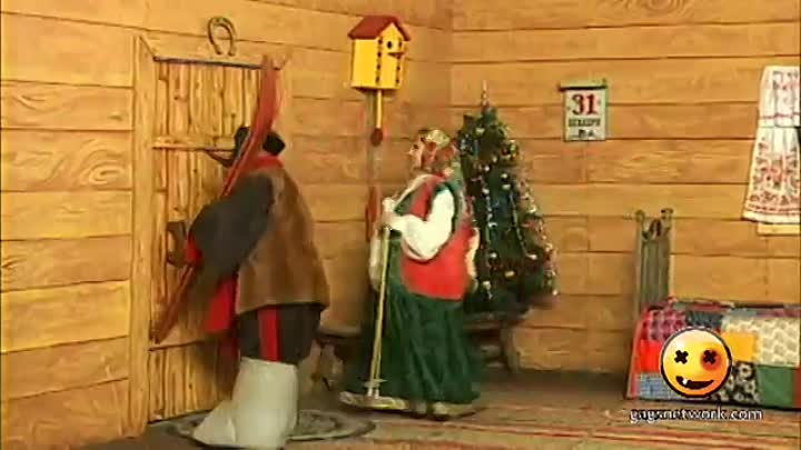 Видео: New Year In The Fool's Village 1 / Новый год в Деревне Дураков. Сотворение зимы