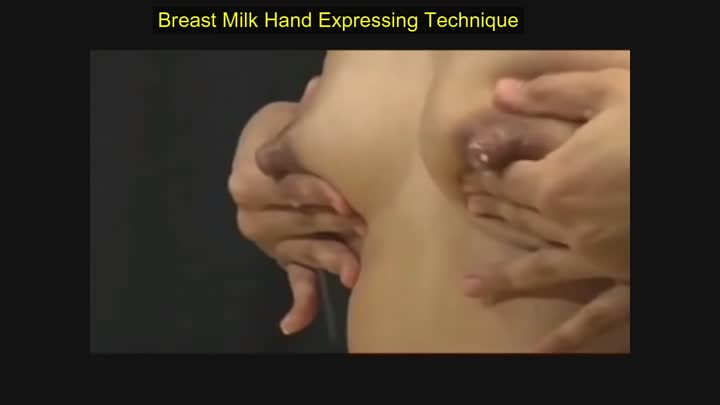 Breastfeeding Hand expressing Tutorial-Milk Expressing II Natural Way prevent mastocytoma