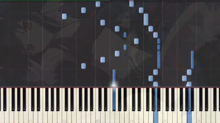[Accel World] ED Unfinished Piano Synthesia Tutorial