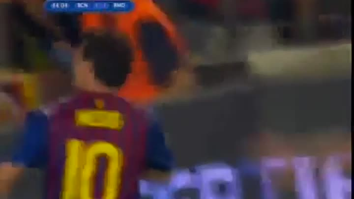 Leo Messi Goal Barcelona vs Real Madrid 3-2 Spanish Super Cup 18/08/2011