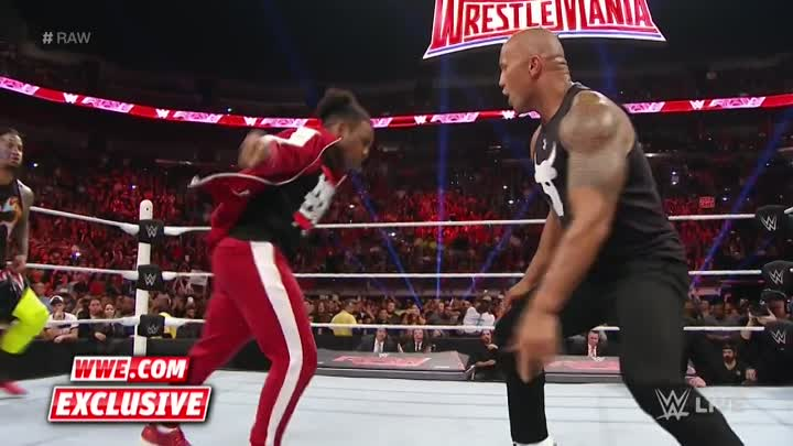 Видео: The Rock gets welcomed back to the WWE: Raw Fallout, January 25, 2016