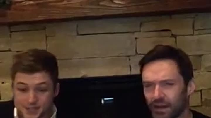 Видео: LIVE CHAT ON FACEBOOK - EDDIE THE EAGLE (TARON EGERTON & HUGH JACKMAN)