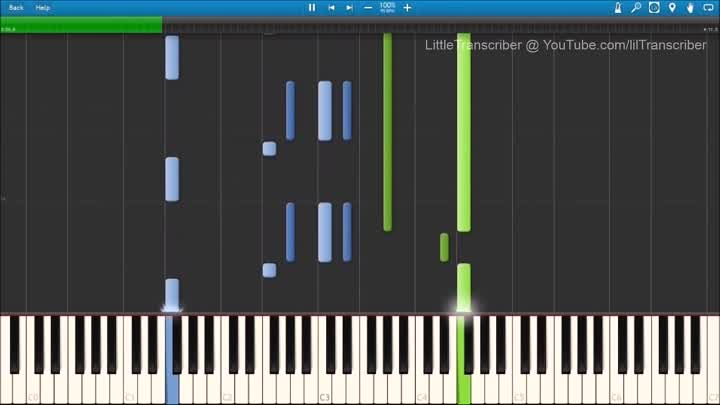 Ellie Goulding - Love Me Like You Do (Piano Cover) by LittleTranscriber
