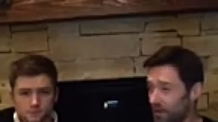 Видео: LIVE CHAT ON FACEBOOK - EDDIE THE EAGLE (TARON EGERTON & HUGH JACKMAN) (2)