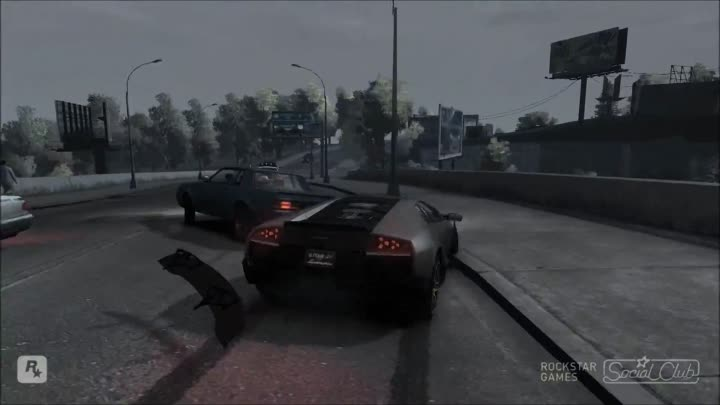 Видео: GTA IV Lamborghini Murcielago LP670-4 SV VS Maserati MC Stradale (Crash Test) 1080p