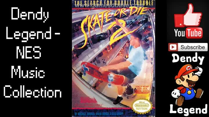 Видео: Skate or Die 2: The Search for Double Trouble NES Music Soundtrack - Title Theme [HQ]