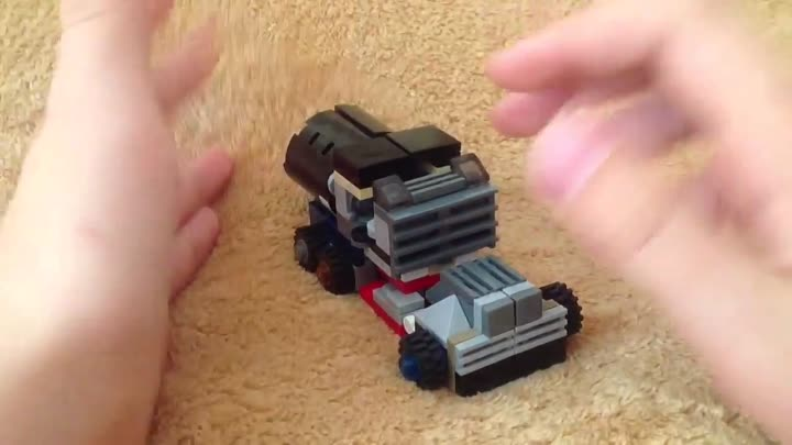 Видео: Lego Transformers Custom ROTF Mixmaster Review.