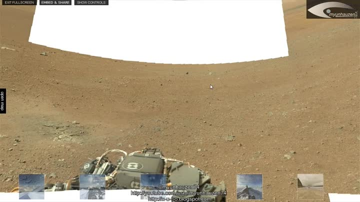 NASA Secrets - On the surface of Mars discovered the skull of people or Aliens! August 16, 2012