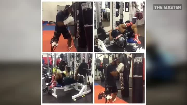 TYRON WOODLEY _ TRAINING WORKOUT HIGHLIGHTS _ MMA UFC