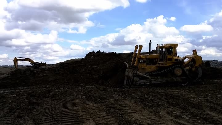 Curling Dirt And Rolling Coal