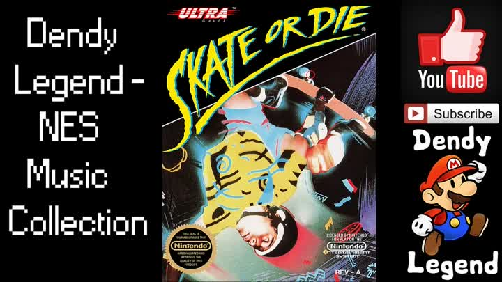 Видео: Skate or Die! NES Music Song Soundtrack - Score Section [HQ] High Quality Music