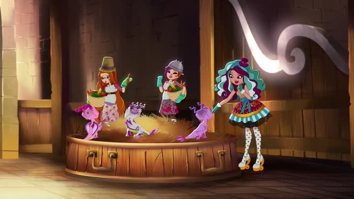 Видео: Ч2 - Dragon Games-Baby Dragons - Ever After High