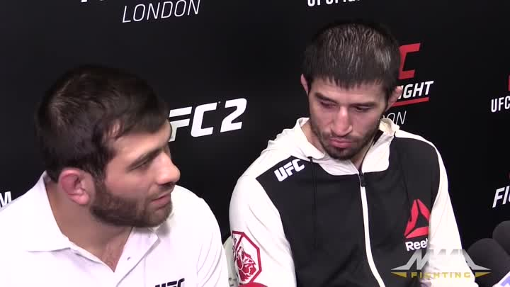 UFN 84_ Rustam Khabilov Says He Confronted 'Scared' Norman Parke in Hotel Before Fight