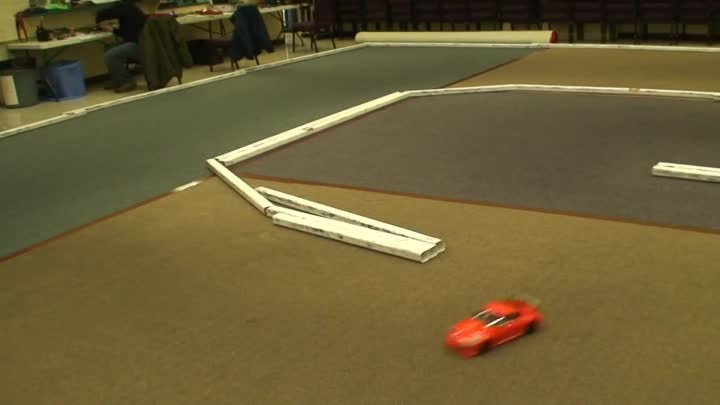 RC ADVENTURES - STOCK CAR RACING #3 - TAMIYA TT-01 - INDOOR ON ROAD TRACK RACING - 1/10th SCALE 4WD