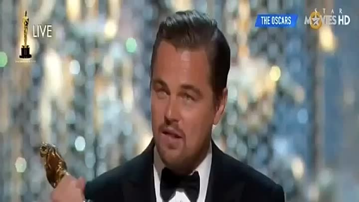 Оскар 2016: Леонардо Ди Каприо получил Оскар - Leonardo DiCaprio Wins The Oscar HD Best Actor
