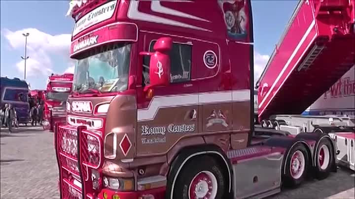 SCANIA R500 V8 NIGHTFLYER III RONNY CEUSTERS
