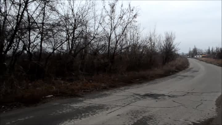Видео: 'Road to Hell' - Spartak under fire, phosphorus shelling - Donetsk City, DONi News 6.3.2016