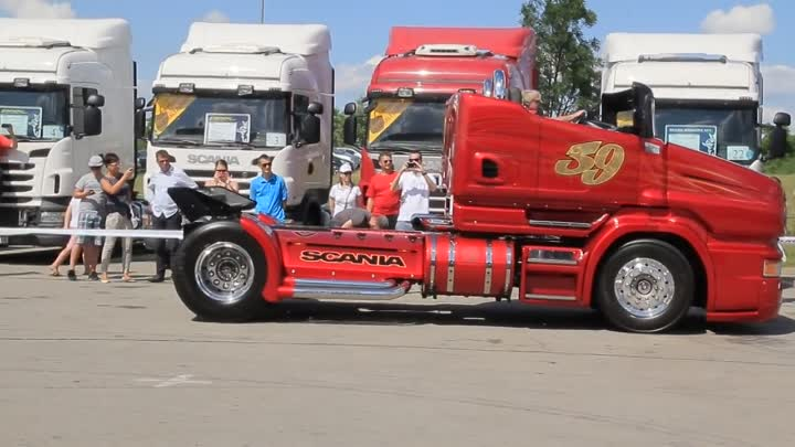 Scania Chimera and Red Pearl