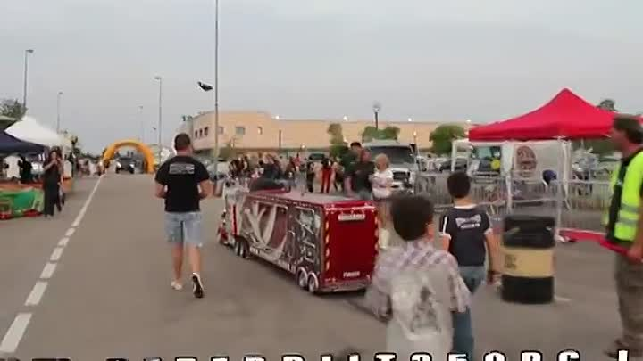 Peterbilt 359 RC 1׃4 and Real Truck Show (Piston Show 2012)